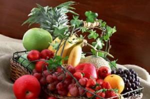 豪華なフルーツ